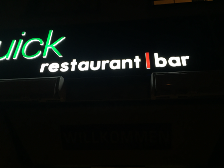 Quick Restaurant, Bar